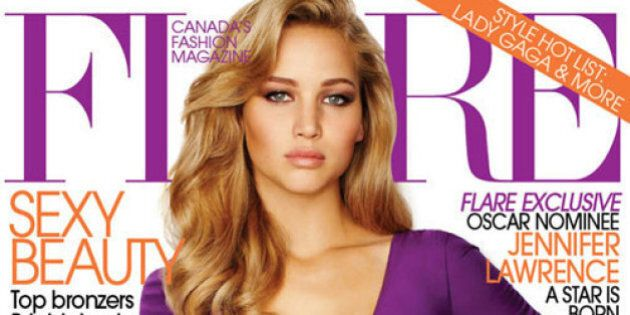 Jennifer Lawrence's Photoshopped Flare Cover Draws Outrage (PHOTO,