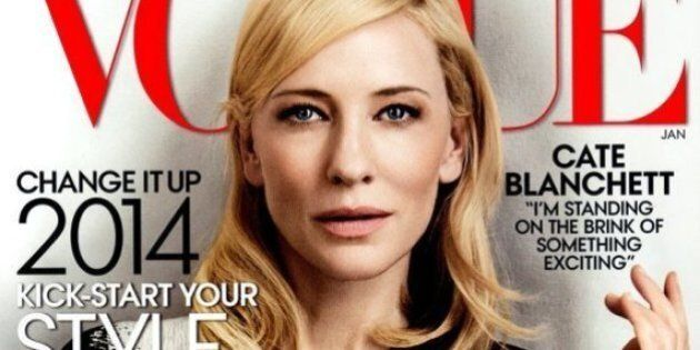Cate Blanchett's Vogue Cover Is Her Fifth Time In The Magazine