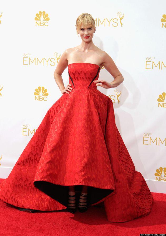 January Jones Emmys 2014: 'Mad Men' Star's Hair Needs