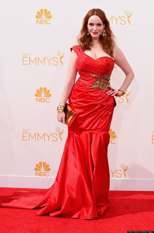 Christina Hendricks' 2014 Emmys Dress Makes Us