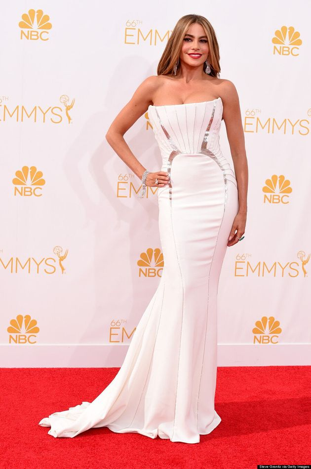 Sofia Vergara's 2014 Emmys Dress Shows Off All Her Curves, And Then