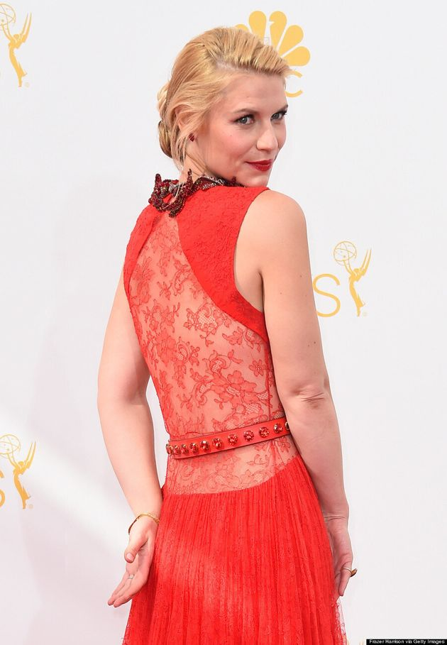 Claire Danes' Modest 2014 Emmys Dress Is Sexy From
