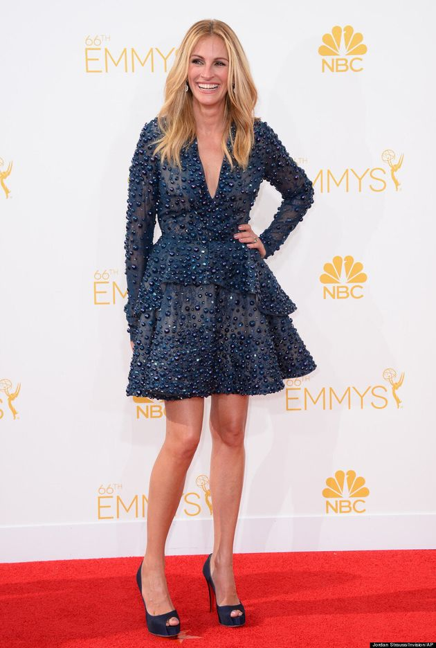 Julia Roberts Steals The 2014 Emmys Red Carpet With Her Huge