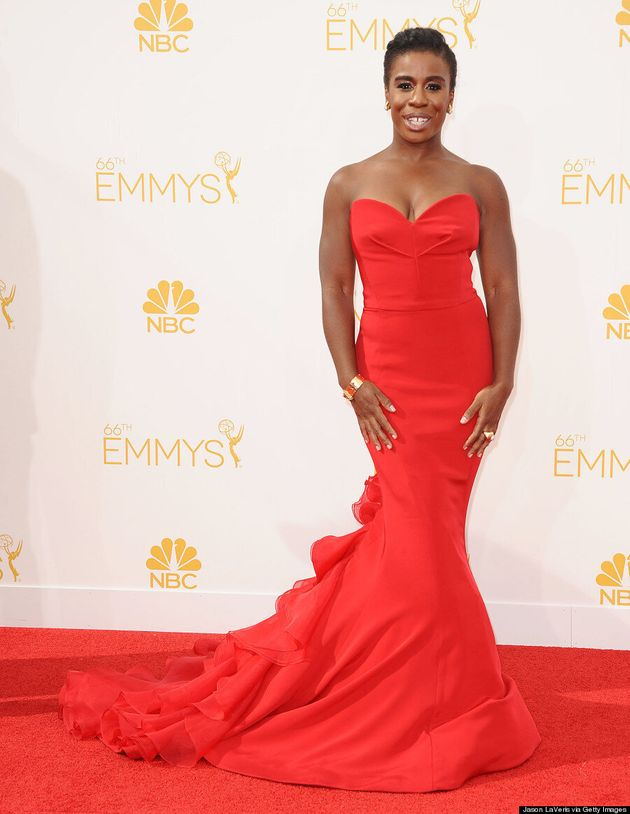 Uzo Aduba's 2014 Emmys Dress Leaves Us