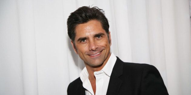 John Stamos attends the 2nd Annual Rebels with a Cause at Paramount Pictures Studios on Thursday, March 20, 2014 in Los Angeles. (Photo by Annie I. Bang /Invision/AP)