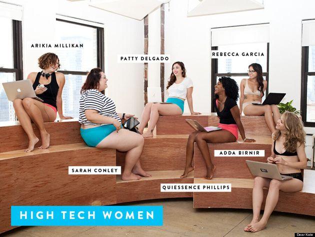 Dear Kate Ads Feature Female Tech CEOs Modeling