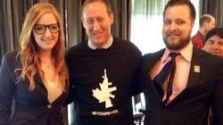 Peter MacKay Wears Gun Shirt From Canada's Answer To