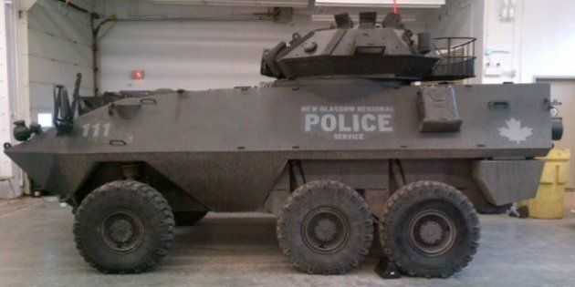 Windsor Police To Take Donated Military Vehicle Into Service