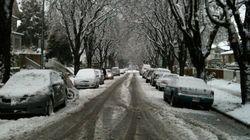 Snow, Freezing Rain