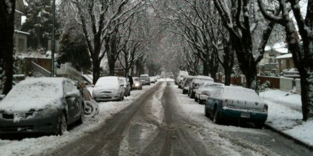 Snow In Vancouver Expected Sunday