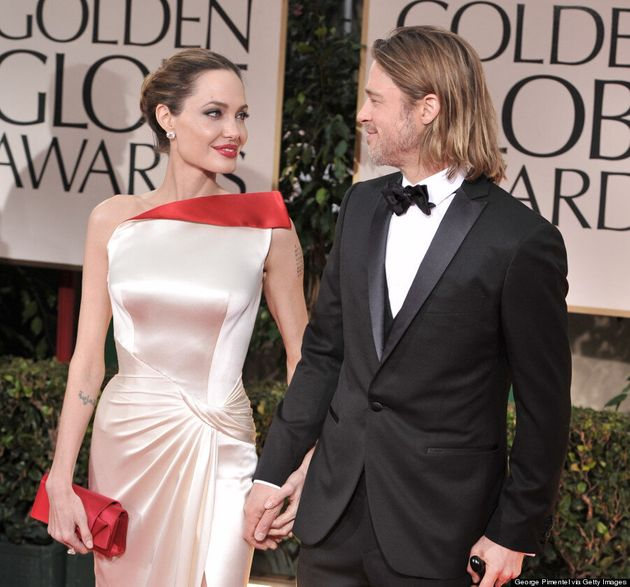 All The Times Angelina Jolie And Brad Pitt Acted Like An Old Married Couple On The Red