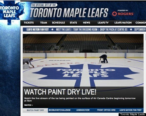 Proof The Leafs Don't Need Good Marketing To Make