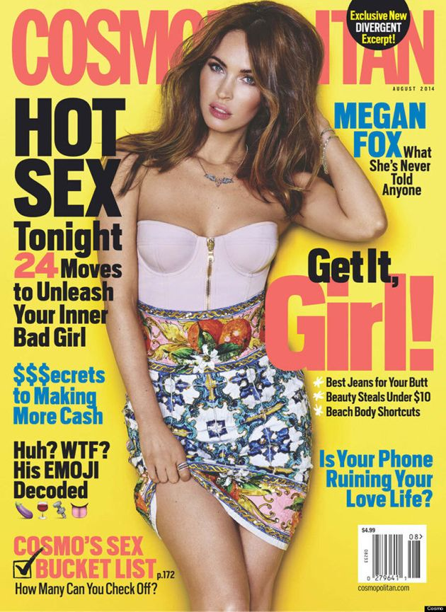 Megan Fox Unleashes Her Sexy Side For