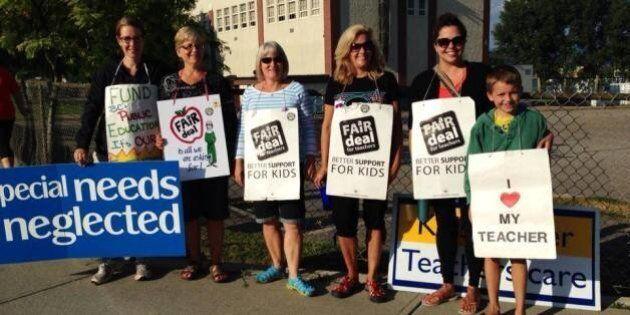 Ending Teachers' Dispute Lies In Hands Of B.C.