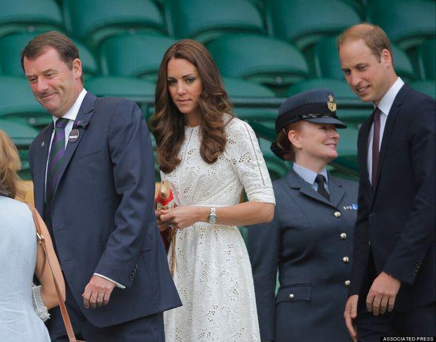 Kate Middleton Recycles Royal Tour Dress At Wimbledon