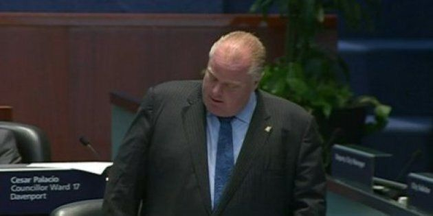 Rob Ford Fights Back Tears, Admits He 'Embarrassed