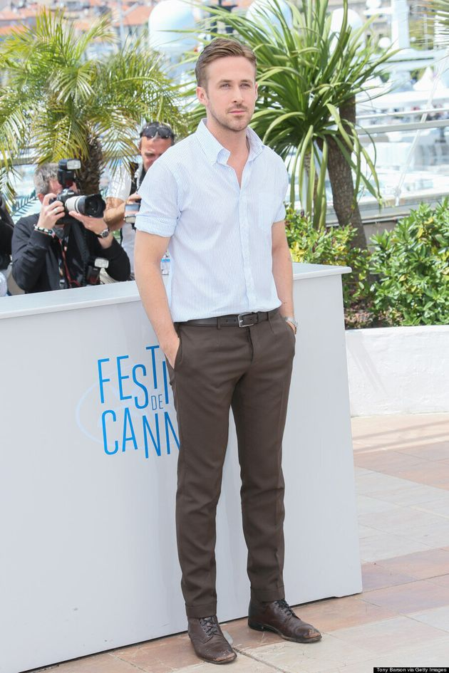 Ryan Gosling Is Perfectly Handsome At Cannes 2014, Natch