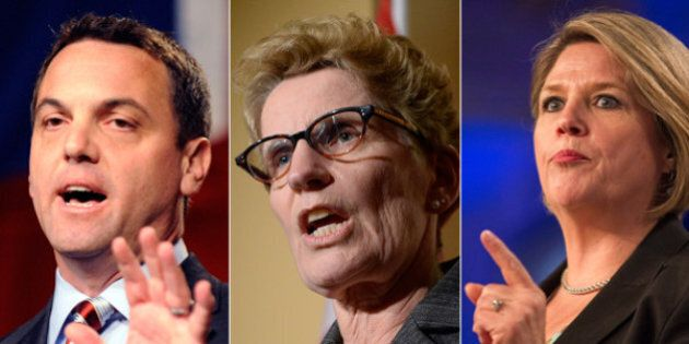 Ontario Election: Campaign Ads On TV, Radio And Print Now
