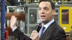 Hudak Rails Against Grants (At Plant That Took