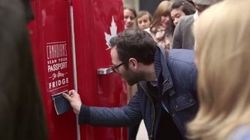 WATCH: This Beer Fridge Only Opens If You're