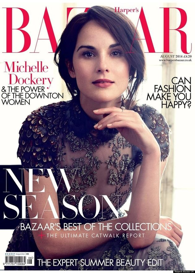 'Downton Abbey' Ladies Cover Harper's Bazaar UK In Gorgeous Gowns