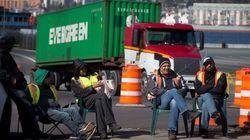 Striking Truckers Reach