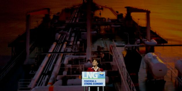 Christy Clark Brushes Aside Russia-China Gas