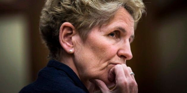 Kathleen Wynne Takes Shot At Harper Tories Over CPP, Transfer