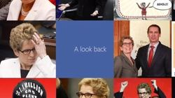 WATCH: Kathleen Wynne's Facebook 'Look Back'