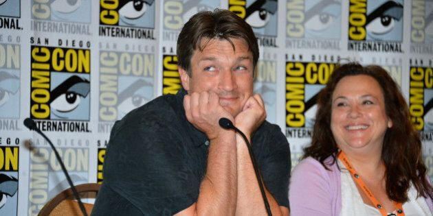 Nathan Fillion's 40 Best Photos: 'Castle' Star Turns 43 Years