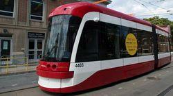 LOOK: Toronto's New Streetcars Hit The