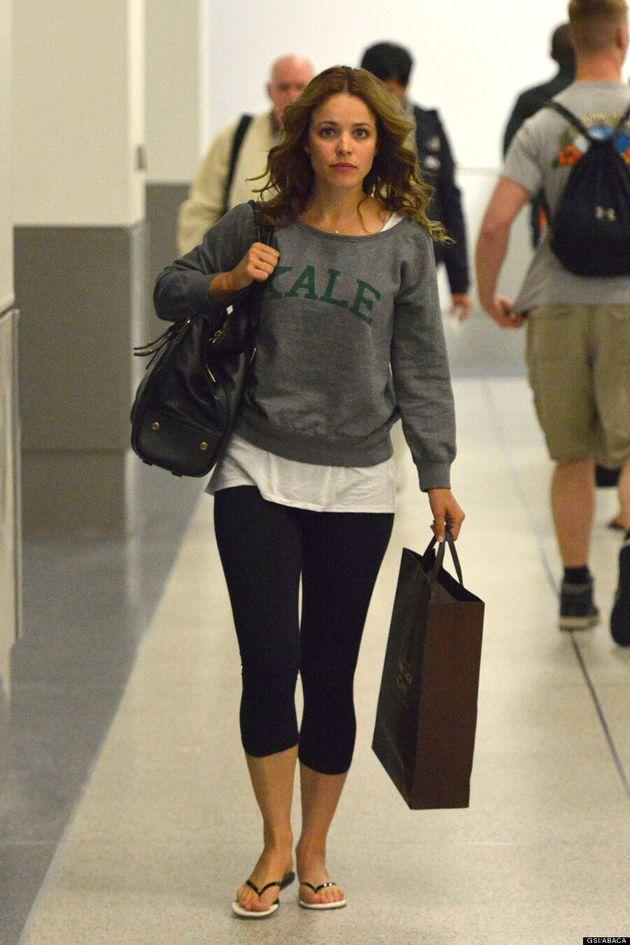 Rachel McAdams' Kale Shirt Is Super Cute
