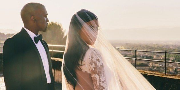 New Kim Kardashian, Kanye West Wedding Portrait Revealed On