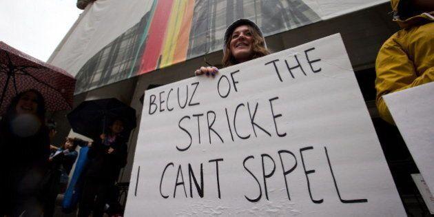 B.C. Teachers' Strike 2014 Cancels First Day Of Public