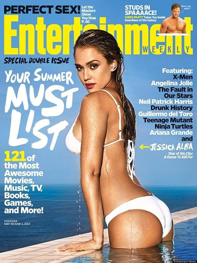 Jessica Alba Flaunts Hot Bikini Body On Entertainment Weekly