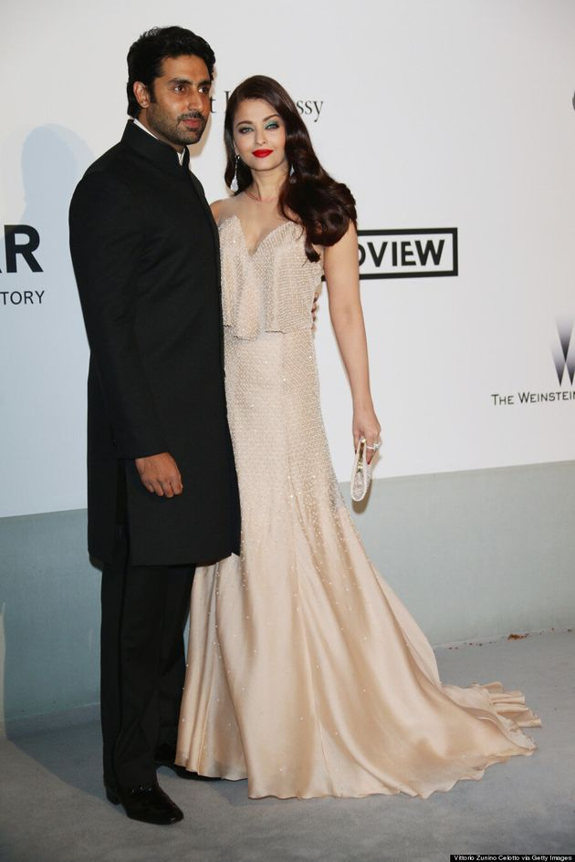 Aishwarya Rai And Abhishek Bachchan Light Up Cannes