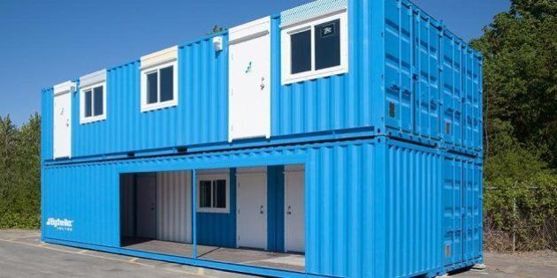 'Luxury' Shipping Container Rooms Unveiled For B.C. LNG