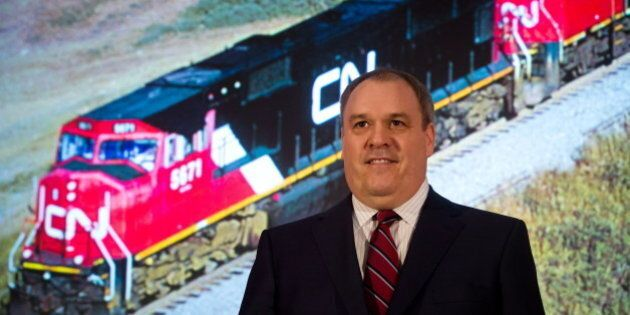 CN CEO Claude Mongeau: Dangerous Goods Shipping Just A Part Of