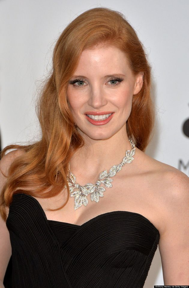 Jessica Chastain's Jewelry Steals The Show At Cannes 2014
