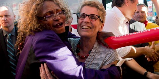 Ontario Election 2014: Wynne Says Choice Between Liberals,