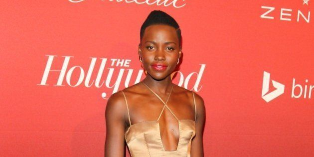 BEVERLY HILLS, CA - FEBRUARY 10: Lupita Nyong'o attends the The Hollywood Reporter's Nominee Party held...