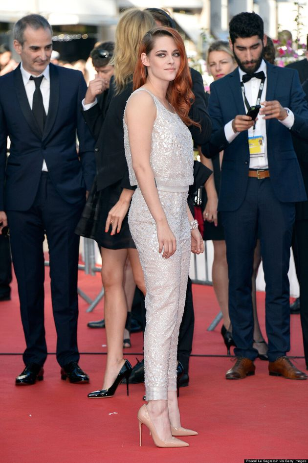 Kristen Stewart Wears Sparkly Pants To Cannes 2014, Because Of