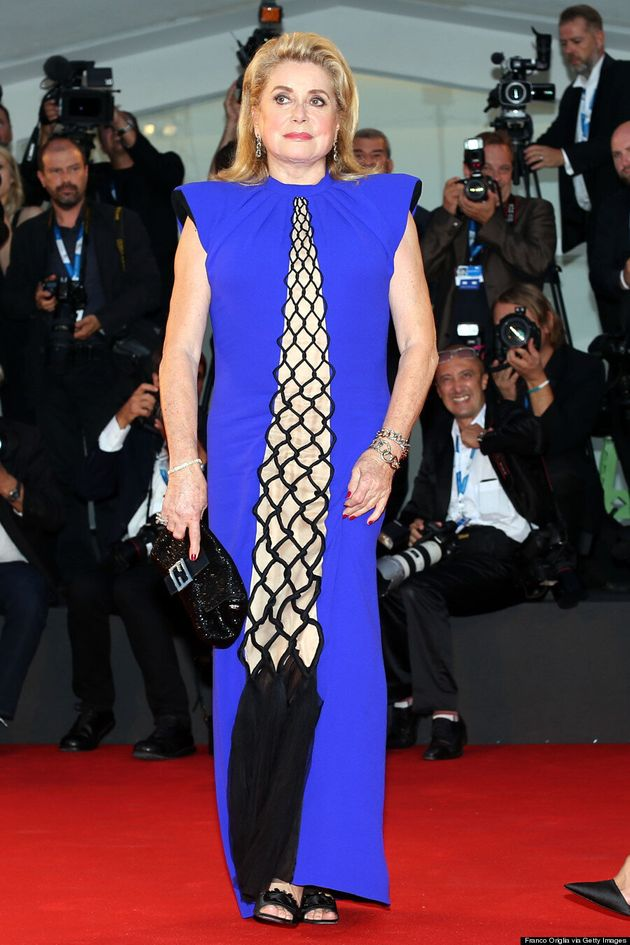 Catherine Deneuve Is A Red Carpet Boss And Don't You Forget
