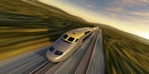 High-Speed Rail Between Edmonton And Calgary Not Viable, Report