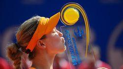 Canada's Eugenie Wins WTA