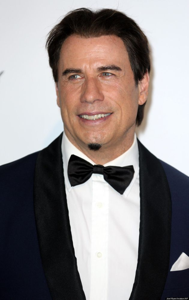 John Travolta Sported The Tiniest Beard In The World At Cannes