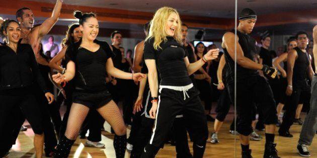Madonna's Hard Candy Fitness Studio Toronto Was Awkward, Loud And