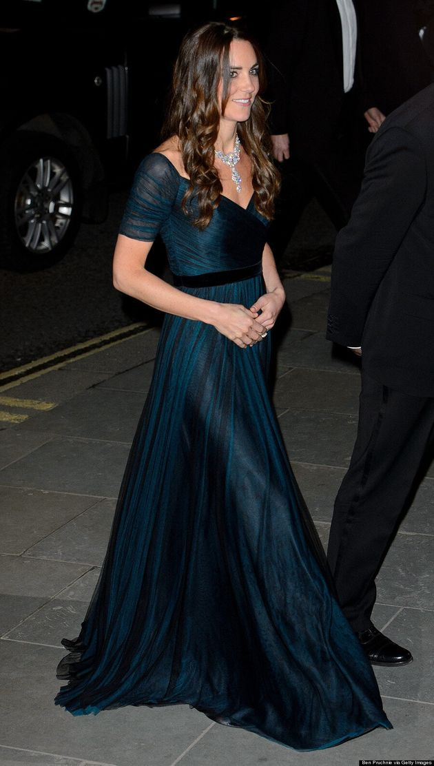 Kate Middleton Amps Up The Bling Factor With Necklace Loaned From The Queen