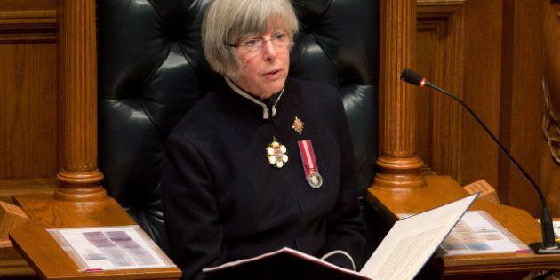 B.C. Throne Speech 2014: LNG, Liquor Laws Among