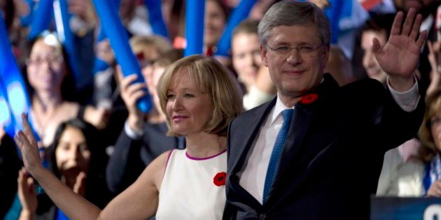 Harper Says He Has No Plans To Quit Before 2015
